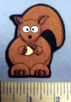751 CP - Squirrel -  Embroidery Patch
