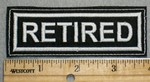 2233 L - Retired - Embroidery Patch
