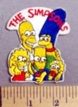 1816 C - The Simpsons - Embroidery Patch