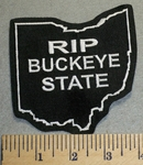 2485 L - RIP Buckeye State - Embroidery Patch