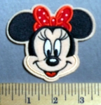 719 C - Minnie Mouse -  Embroidery Patch