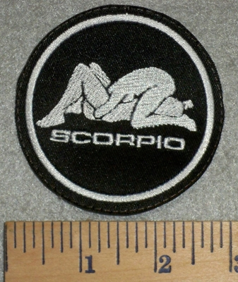 2806 L - Scorpio  - Zodiac Sign - Sexual Position - Embroidery Patch