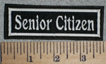2707 L - Senior Citizen - Embroidery Patch