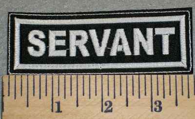 2372 L - Servant - Embroidery Patch