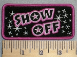 2473 G - Show Off - Embroidery Patch