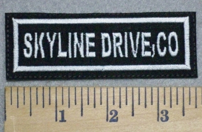 3400 L - Skyline Drive, Co. - Embroidery Patch