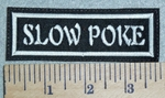 3078 L - Slow Poke - Embroidery Patch