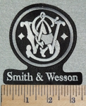 1432 L - Smith & Wesson - With Logo - Embroidery Patch