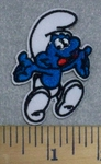 3207 C - Smurf #2 - Embroidery Patch