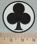 3056 G -  Club  - Embroidery Patch