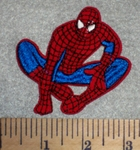 2677 C - Spiderman #1 - Embroidery Patch