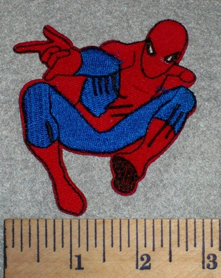 2680 C - Spiderman #4 - Embroidery Patch