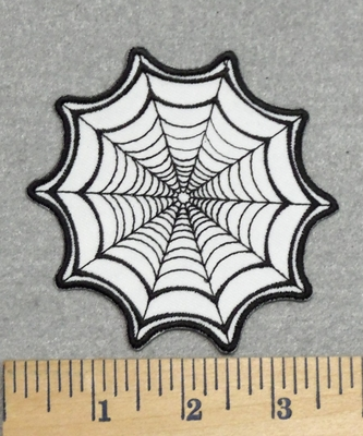 2839 N - Spiderweb - Embroidery Patch