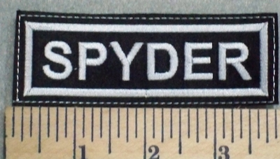2553 L - Spyder - Embroidery Patch