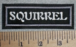 2703 L - Squirrel - Embroidery Patch