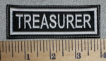 2720 L - Treasurer - Embroidery Patch