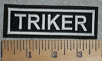 2778 L - Triker - Embroidery Patch
