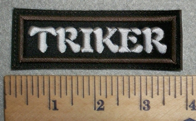 2754 L - Triker - Embroidery Patch