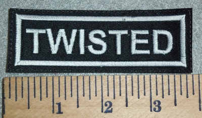 3071 L - Twisted - Embroidery Patch