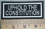 3069 L - Uphold The Constitution - Embroidery Patch