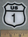 3438 L - US 1 - Embroidery Patch