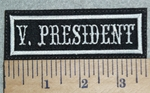 3039 L - V. President - Embroidery Patch