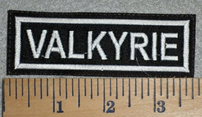 2776 L - Valkyrie - Embroidery Patch