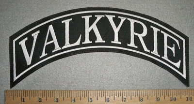 2830 L - Valkyrie - Top Rocker- Embroidery Patch
