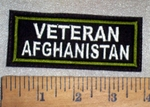674 L - VETERAN AFGHANISTAN - Embroidery Patch