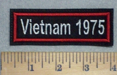 3478 L - Vietnam 1975 - Embroidery Patch