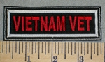 2429 L - Vietnam Vet - Embroidery Patch