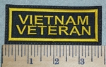 3066 L - Vietnam Veteran - Yellow - Embroidery Patch
