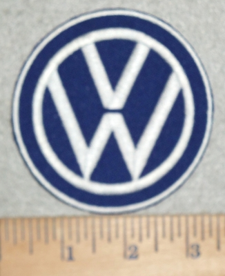 3108 C - Volks Wagon Logo - Embroidery Patch