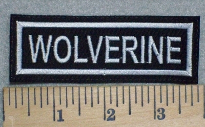 3252 L - Wolverine - Embroidery Patch