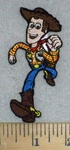 3457 C - Woody - Toy Story - Embroidery Patch