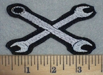 3431 L - Wrench - Embroidery Patch