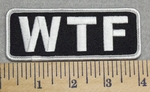 2979 G - WTF - Embroidery Patch