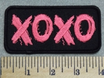 2964 G - XOXO - Embroidery Patch
