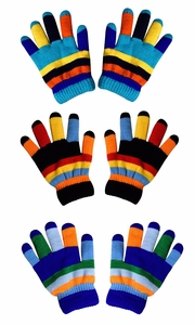 Children's Toddler Warm Winter Gloves and Mittens Value packs (Rainbow 3 Toddlers(2 to 4 years)