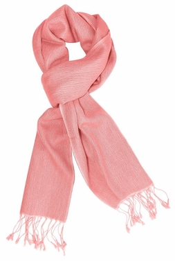 Gorgeous Warm Cashmere & Silk  Scarf (Pink)