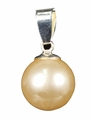Jewelry Freshwater Cultured Pearl Pendant with Sterling Silver Hook