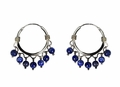 Lapis Beads Earrings
