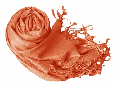 Luxurious Eco-friendly Pashmina Shawl (Rust)