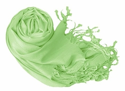 Luxurious Eco-friendly Pashmina Shawl (Baby Green)