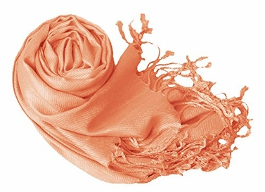 Luxurious Eco-friendly Pashmina Shawl (Coral)