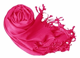 Luxurious Eco-friendly Pashmina Shawl (Fuchsia)