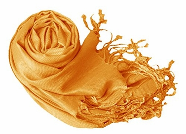 Luxurious Eco-friendly Pashmina Shawl (Gold)