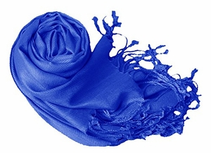 Luxurious Eco-friendly Pashmina Shawl (Royal Blue)