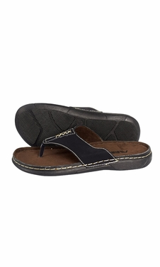 Mens Classical Slippers Casual Leather Sandals Comfortable Shoes