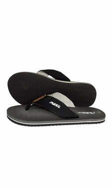 Mens Flip Flop Synthetic Suede Stappy Beach Flats Sandals Charcoal Grey
